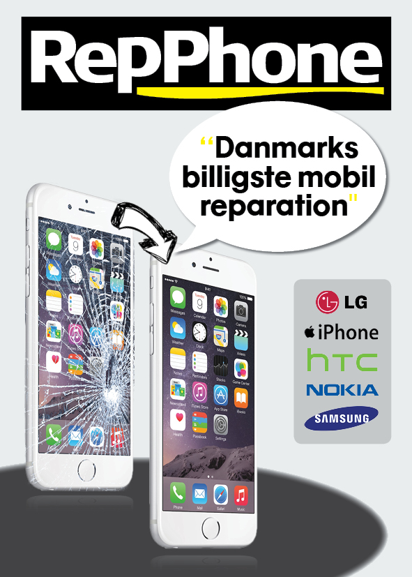 smartphone reparation århus